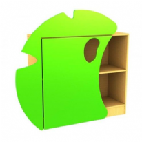 Childrens Novelty Frog Bookcase with Lilypad Doors